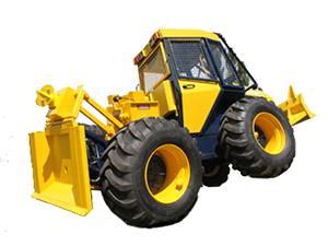 lesné traktory